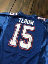 Tim Tebow Florida Gators Nike Football Jersey #15 Sewn On Blue • Women's XL