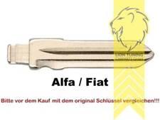Schlüsselrohlinge für Klappschlüssel Zentralverriegelung Alfa Romeo Fiat