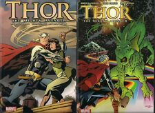 THOR THE MIGHTY AVENGER VOL 1 & 2 MARVEL SC DIGEST GN TPB 2 BOOK SET 256pgs NEW