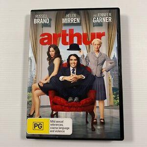 Arthur (DVD 2011) Helen Mirren Russell Brand Region 4