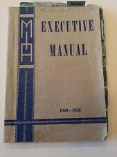 1949-1950, Executive Manual, MIA/Mutual Improvement Associations, LDS/Mormon