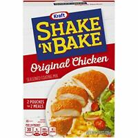 Shake 'n Bake Original Chicken Seasoned Coating Mix (4.5 oz Box)