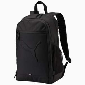 PUMA Casual Unisex Backpack Rucksack Buzz Black