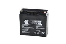 12V 17Ah RPower AGM Batterie Bleiakku USV Akku Notstrom Notlicht Bleibatterie