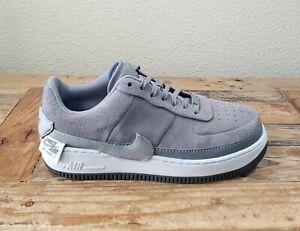 Nike Air Force 1 Jester Low Women's Size 11 Gunsmoke Gray Shoes  BQ3163-001