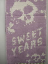 Sciarpa scarf SWEET YEARS art.JC3726 colore 6 lilla teschio skull Italy