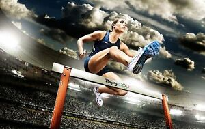 {24 inches X 36 inches} Lolo Jones Poster #2 - Free Shipping!