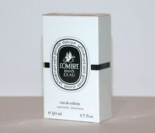 Diptyque Perfume L'Ombre Dans L'Eau 1.7oz 50ml Eau de Toilette Spray NIB Sealed