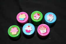 5x Cupcake Stampers great for parties or stocking fillers