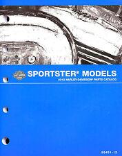 2012 HARLEY-DAVIDSON SPORTSTER PARTS CATALOG MANUAL -XL 883-SPORTSTER-XL1200X