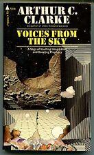 Arthur C Clarke VOICES FROM THE SKY Pyramid T2396 SF Essays