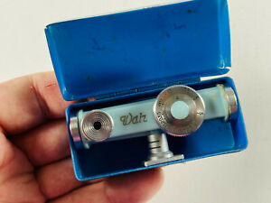 Vintage Walz Shoe Mount Rangefinder Finder Meter Japan feet w/ box RARE BLUE