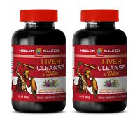 liver and kidney vitamin - LIVER CLEANSE & DETOX 2B- milk thistle for liver