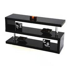 Modern Designer Square Black Gloss Shelving/Storage Unit#Brand New#