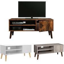 VASAGLE TV Lowboard, Fernsehtisch, TV-Regal für Fernseher, Fernsehschrank Modern