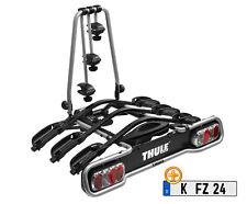 THULE EuroRide 942 - AHK Heckträger für 3 Fahrräder + Kennzeichen - 942000