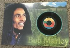 Bob Marley Vinyl 45 Record Wake Up and Live Picture Ready To Frame