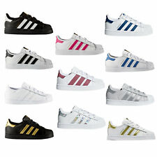 acogedor fresco que buen look gama exclusiva Adidas Superstar Kinder | eBay