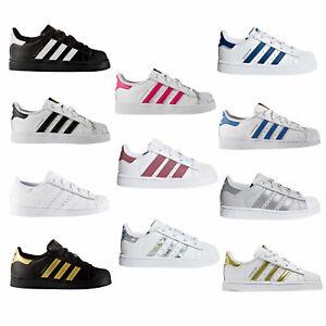 adidas Originals Superstar Kinder-Sneaker Kleinkind-Turnschuhe Halbschuhe Schuhe
