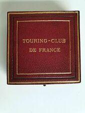 Médaille ARGENT - TOURING-CLUB de FRANCE - Alphée Dubois - Beau Coffret