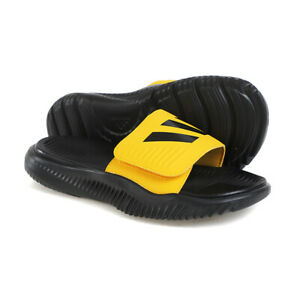 Adidas Alpha Bounce Slide Men's Sandals Smooth Comfortable Casual Slipper FX1327
