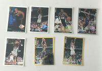 1994-95-96 Upper Deck Collector's Choice GOLD & Players Club PLATINUM 7 CARD LOT
