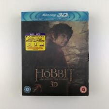 The Hobbit - An Unexpected Journey (3D Blu-ray, 2013, 4-Disc Set, Box Set) s