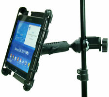 Music / Microphone Stand Tablet Clamp Mount Holder for Galaxy TAB S2
