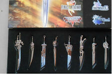 Final Fantasy Weapon Set/ Full Set Of Final Fantasy Sword Weapon NEW FFT8 YSH019