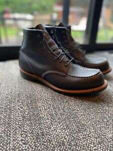 RED WING 2964 HERITAGE WORK COOPER MOC TOE BOOT - size 10