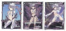 JAPANESE Anime Game card WIXOSS Ulith ST 3 cards set