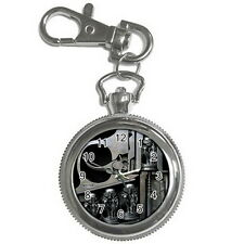 HR GIGER Stainless steel Key Ring, Key Chain Watch for men women Gift HOT NEW