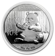 10 yuan 2017 PANDA 30 g argent 999/1000 Chine 30 grammes silver 999