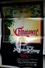 Chinatown 1974 Original Movie Poster One Sheet Authentic 74/205 Jack Nickolson