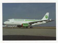 Germania Airbus A319-112 Aviation Postcard, B008