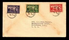 St Helena 1940 Cover to USA - L11635