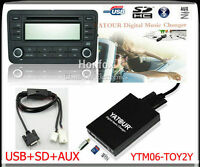 Yatour Digital CD Changer for Toyota Lexus Scion Small 6+6 plug keep CD changer