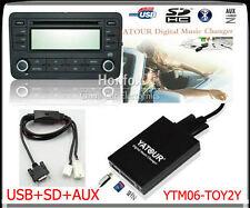 Yatour Digital CD Changer for Toyota Lexus Scion Small 6+6 plug keep CD changer