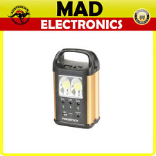 Solar LED Light Kit 3 x 3W with Solar Panel USB charge and 12v output Camping