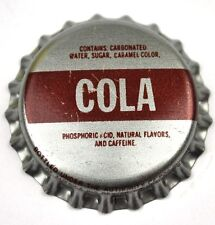 COLA Kronkorken USA Soda Bottle Cap Plastikdichtung