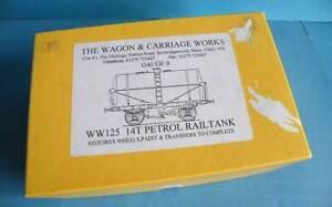 Boxed Wagon & Carriage Works 7mm Kit WW125 -  14T Petrol Rail Tank Wagon