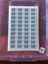 QE2 1966 WESTMINSTER ABBEY 2/6d VALUE IN COMPLETE UNFOLDED SHEET OF 40 NHM