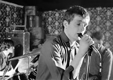"""Reproduction """"Joy Division - On Stage"""", Poster, Ian Curtis, Manchester"""