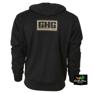 NEW AVERY GHG GREENHEAD GEAR COTTON HOODIE - HOODED SWEAT SHIRT - GHG LOGO