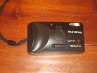 Olympus Infinity Hi-Lite 35mm Point And Shoot Camera FILM TESTED WORKS