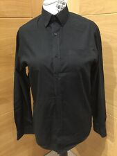 Tailor & Cutter Long Sleeved, Black Shirt, 15.5 Regular Fit REDUCED