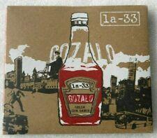 LA-33 ORQUESTA / GOZALO CD 2007 LA-33 RECORDS DIGIPAK LATIN SALSA RARE OOP