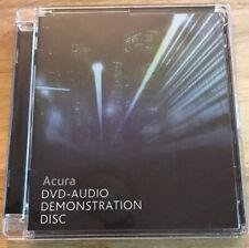 Acura DVD - AUDIO DEMONSTRATION DISC