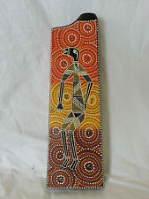 Musical Instrument Travel Box Didgeridoo Hand Carved & Painted - Key D Didge #5