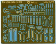 Alliance Model Works 1:24 Scale Mechanic Tools Connectionless PE #LW24001